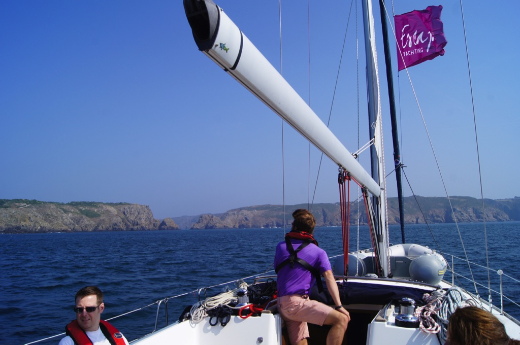 Channel Islands yachting experience